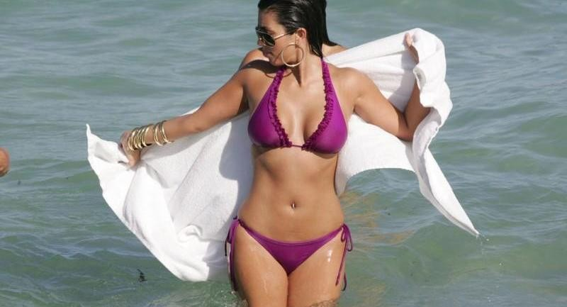 Kim Kardashian Bikini Big No Clothes
