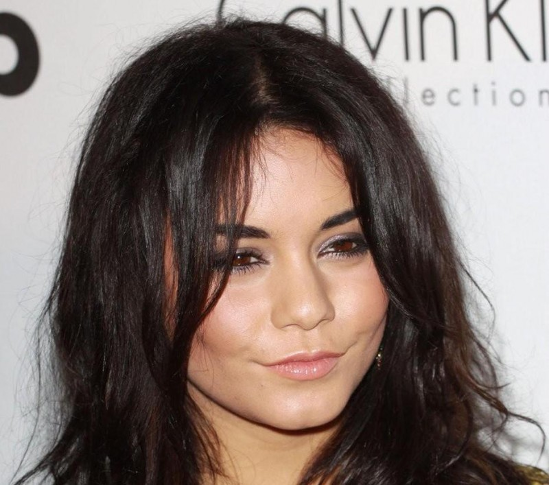 Vanessa Hudgens Long Tousled Hair