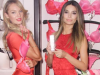 Victoria's Secret Angels, Lily Aldridge and Candice Swanepoel reveal their Valentine's Day secrets