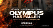 Aaron Eckhart, Gerard Butler and Morgan Freeman in new Olympus Has Fallen clip
