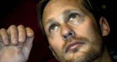 Alexander Skarsgård wants people to focus on his acting and not his looks