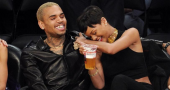 Chris Brown tells radio station that he and Rihanna are not together anymore