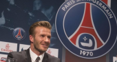 David Beckham excited ahead of PSG debut