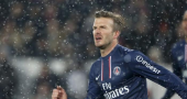 David Beckham happy with Ligue 1 debut