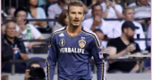 David Beckham joins Arsenal (sort of)