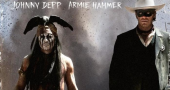 Johnny Depp and Armie Hammer in new The Lone Ranger character posters