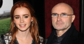 Lily Collins never asked her father Phil Collins for help in getting roles