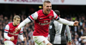 Lukas Podolski: Arsenal against Tottenham is something special