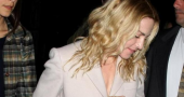 Madonna goes make-up free and it is n