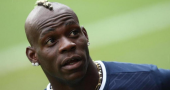 Mario Balotelli stays calm after abuse from Inter fans in Milan derby