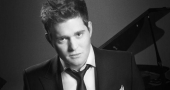 Michael Buble spends more time at home