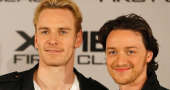 Michael Fassbender calls James McAvoy 'fantastic, but crazy'