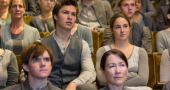 New still of Shailene Woodley and Ansel Elgort in 'Divergent'