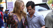 Penn Badgley discusses Blake Lively relationship