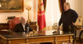 Philip Seymour Hoffman and Donald Sutherland in new 'Catching Fire' still