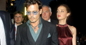 Johnny Depp drunk on the stage after news of his fiancee allegedly cheating on him?