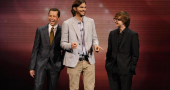 Ashton Kutcher tears into Charlie Sheen in Mila Kunis Two and a Half Men episode