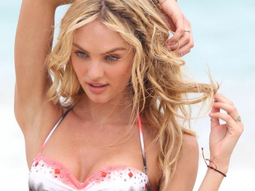 Candice Swanepoel reveals her diet and work out regime
