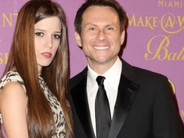 Christian Slater opens up about his wedding to Brittany Lopez