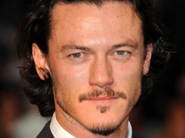 Luke Evans beat Alexander Skarsgard and Tom Hiddleston to play 'The Crow'