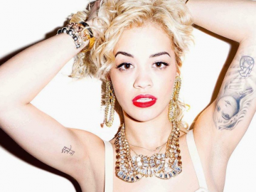 Rita Ora spends time at fat camp