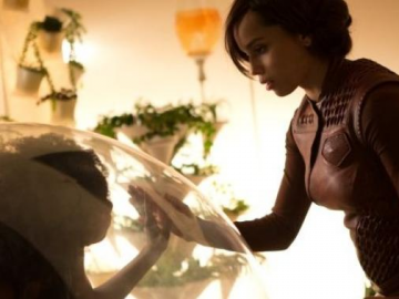 Zoe Kravitz and Sophie Okonedo in new 'After Earth' stills