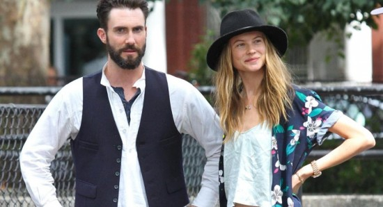 adam levine and his wife