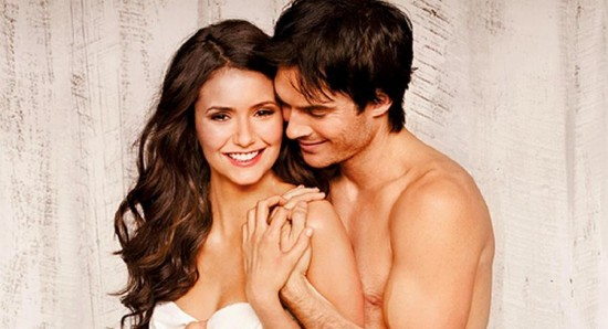 does elena and damon dating in real life