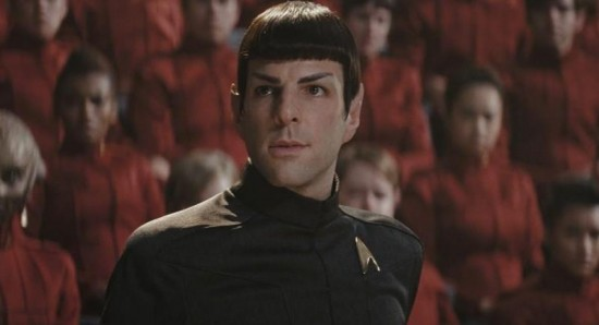 Spock Zachary Quinto Into Darkness