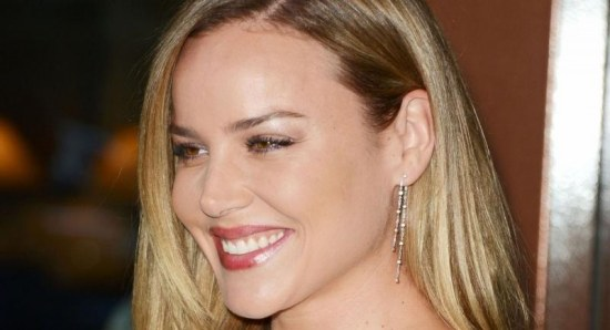 Abbie Cornish smiles for the cameras