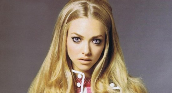 Amanda Seyfried in Vanity Fair