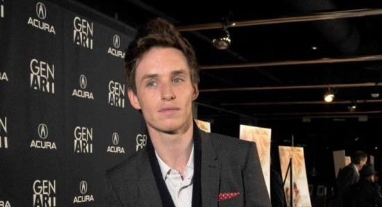 Eddie Redmayne at a public event