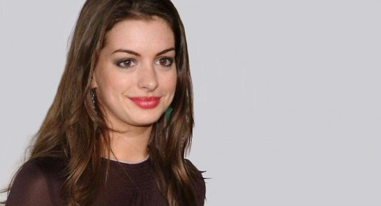 Anne Hathaway when she was younger