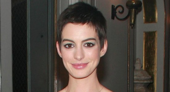 Anne Hathaway at 'Les Miserables' premiere after-party