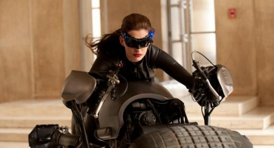 Anne Hathaway as Catwoman in 'Dark Knight Rises'