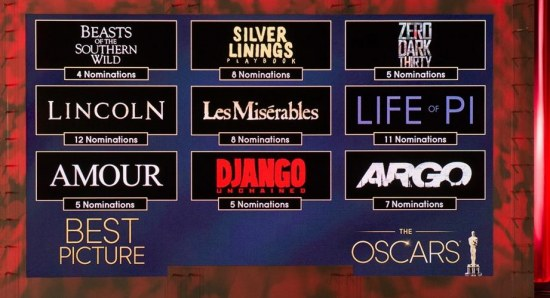 'Les Miserables' has 8 Oscar nominations