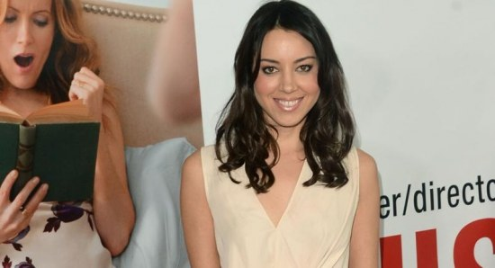 Aubrey Plaza at the 'This is 40' Premiere
