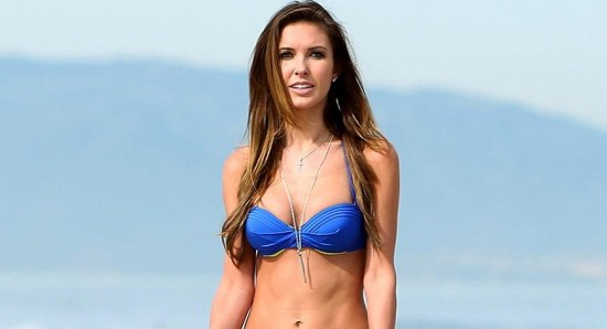 Audrina Partridge shows off her fantastic figure