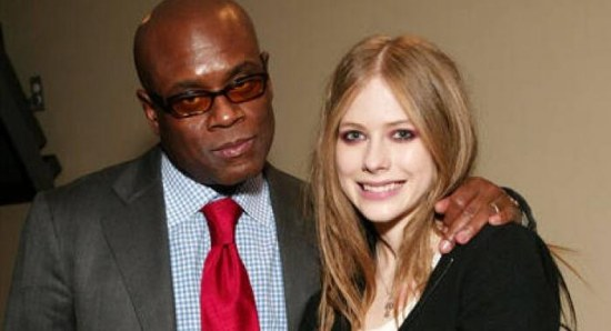 Avril Lavigne with LA Reid