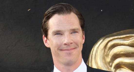 Benedict Cumberbatch at the BAFTA Awards