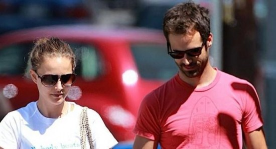 Natalie Portman and Benjamin Millepied out in Los Angeles