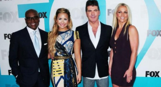 Last seasons The X Factor USA judges