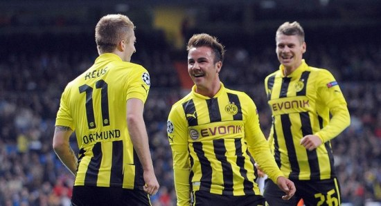 Borussia Dortmund won the 'group of death' without losing a match
