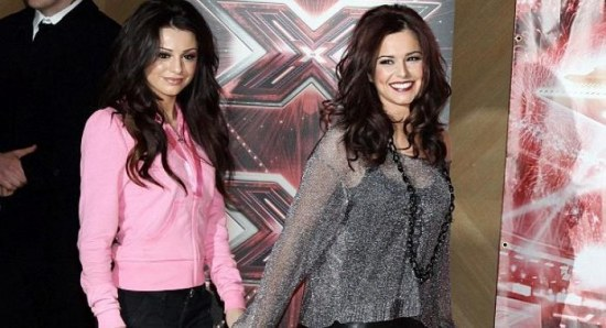 Cheryl Cole with Cher Lloyd