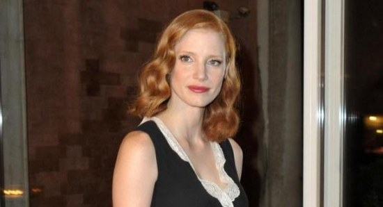 Jessica Chastain is another redhead impressing in Hollywood