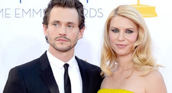 Claire Danes and Hugh Dancy at the Emmy's