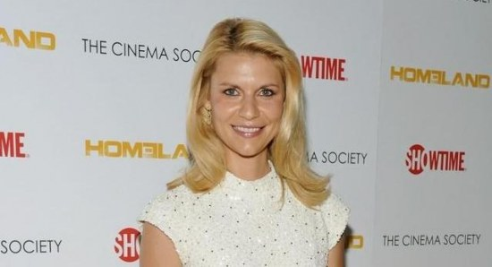 Claire Danes at the second season premiere of Homeland