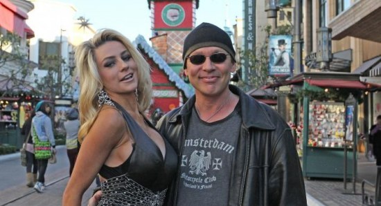 Courtney Stodden with her husband Doug Hutchison