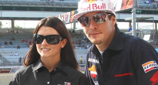 Danica Patrick at Racing Event