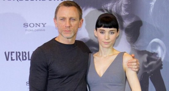 Daniel Craig with Rooney Mara